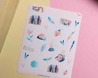 Writer Author Planner Journal Stickers