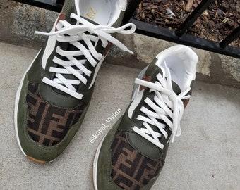 5397575bdbfe Custom Zara X Fendi Combined sneakers