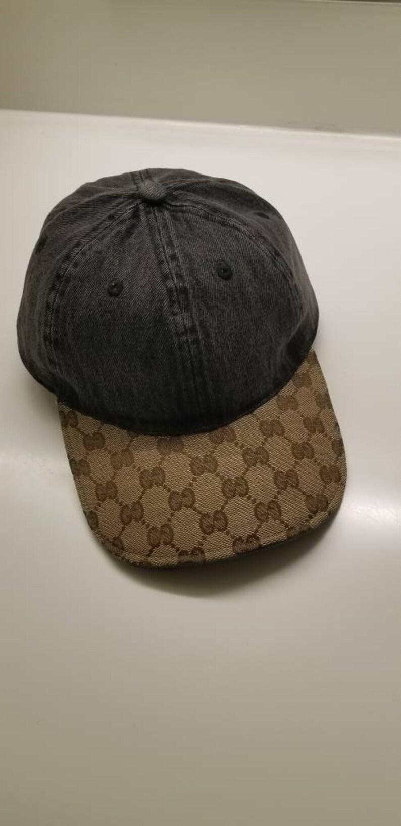 04952c40 Custom Gucci Dad Hat | Etsy