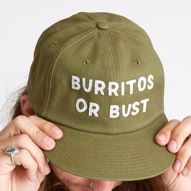 38ec150ff73 Burrito Hat Strapback Hat Mens Hat Womens Hats Snapback