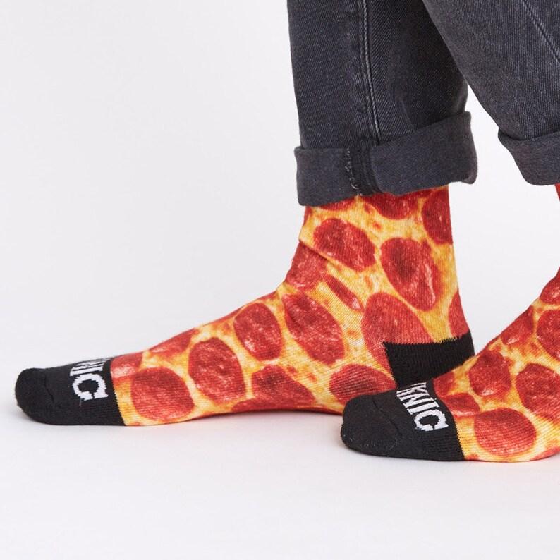 16769b64f0dc Pizza Socks Funny Socks Cool Socks Mens Socks Socks Women | Etsy