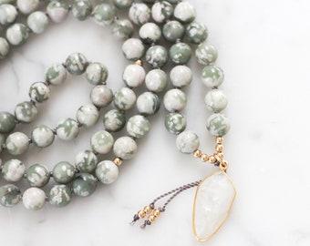Moon Dancer Mala- mala beads, mala necklace, tassel necklace, mala, mala beads necklace, tassel necklaces, beaded necklace, mala beads 108