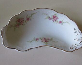 ENGLAND W H GRINDLEY Bone Dish