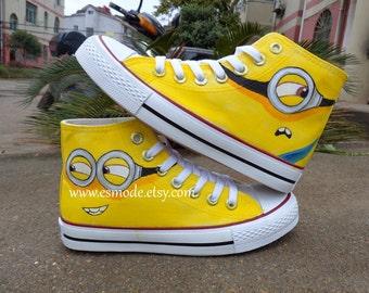 Minion shoes | Etsy