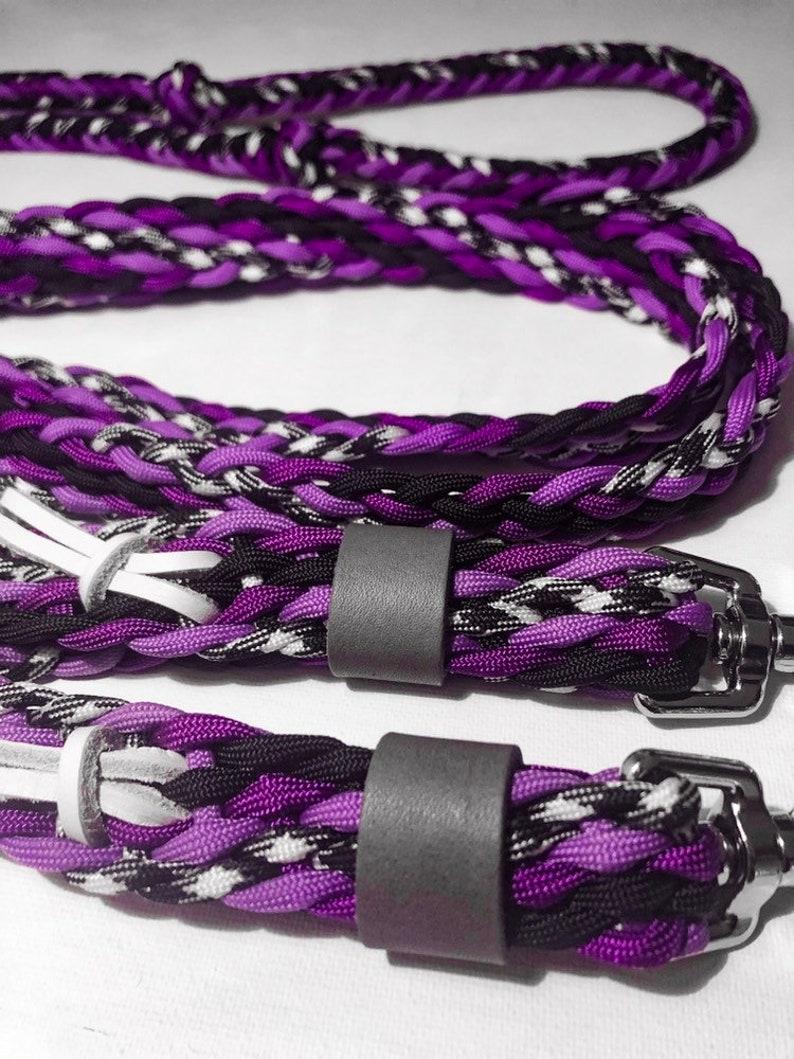 Purple Barrel Reins 8\u2019 loop rein