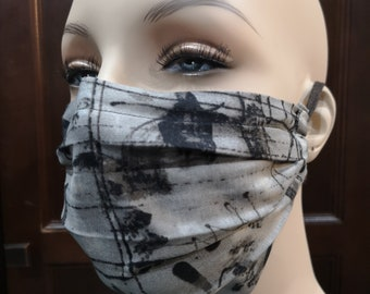 Unisex Grunge Mask, Funky Face Mask, Face Mask, VIrus Protection, Non Medical Face Mask, Accessories, Cotton Face Mask, Washable Mask