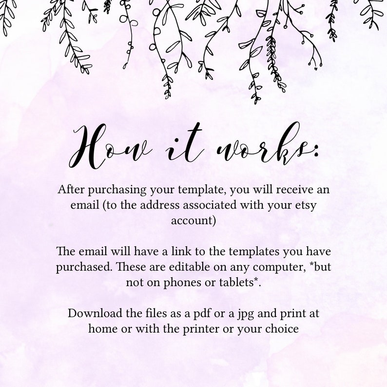 Photo Baby Girl Announcement Card Custom Birth Announcement Instant Download with Templett Printable Birth Announcement