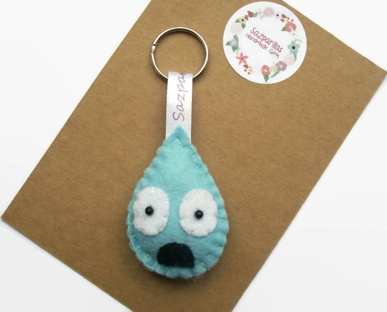Emoji Felt Keyrings, Personality Traits, Grumpy Gifts, Flirty, Heart eyes,  Sazzles, Anxiety Gifts, Happy, Cute Keychains for Friends