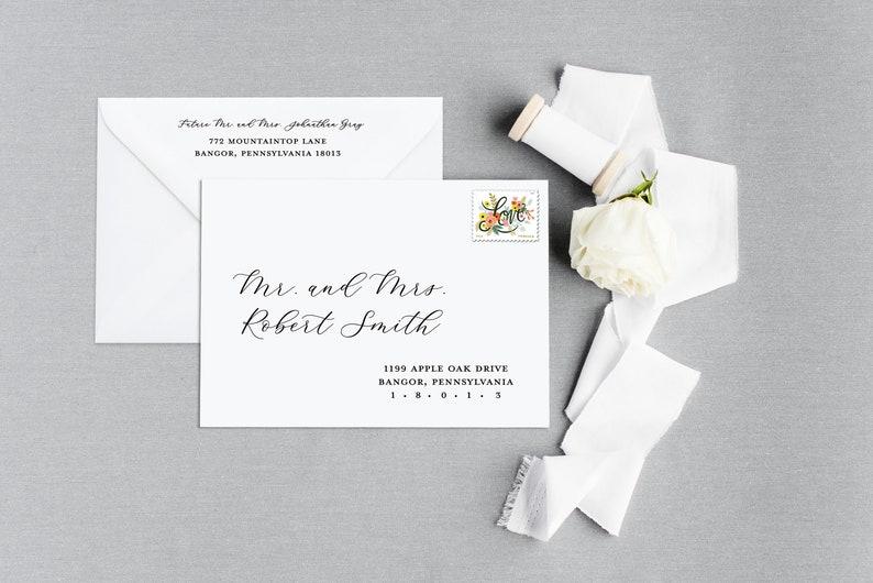 Wedding Invitation Envelope Address Printing Wedding Envelope Printing Wedding Envelope Addressing Printed Envelopes Envelope Printing