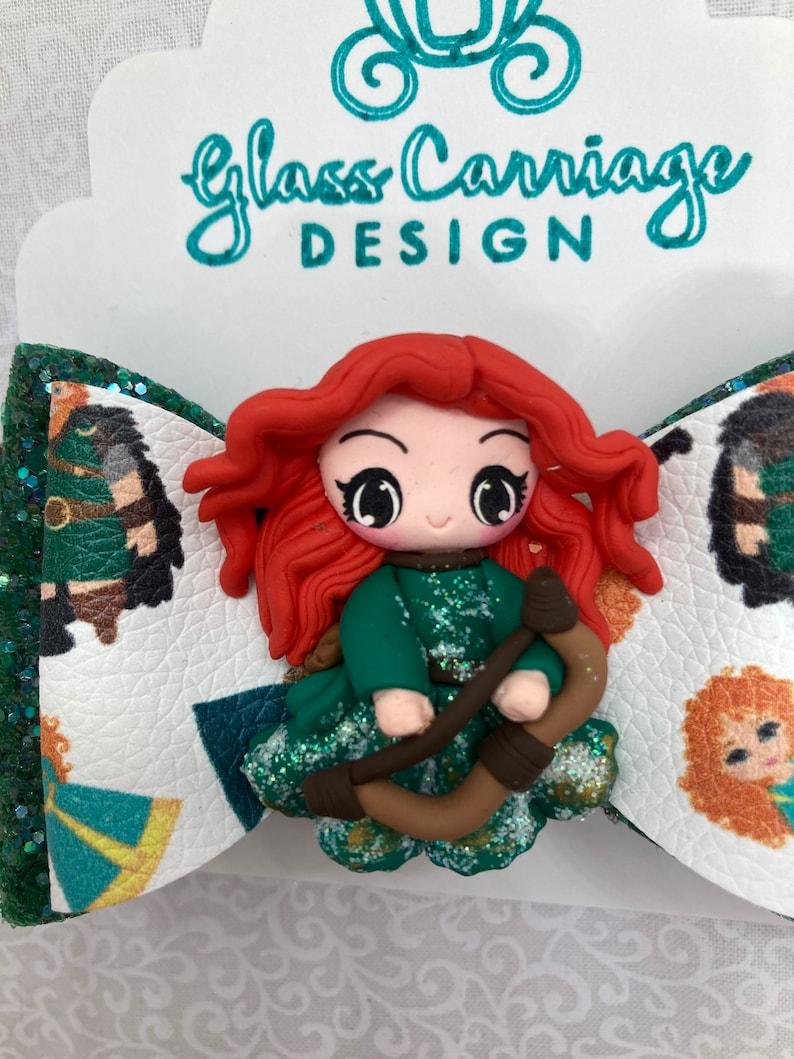 Highlands Princess Clay Character Bow