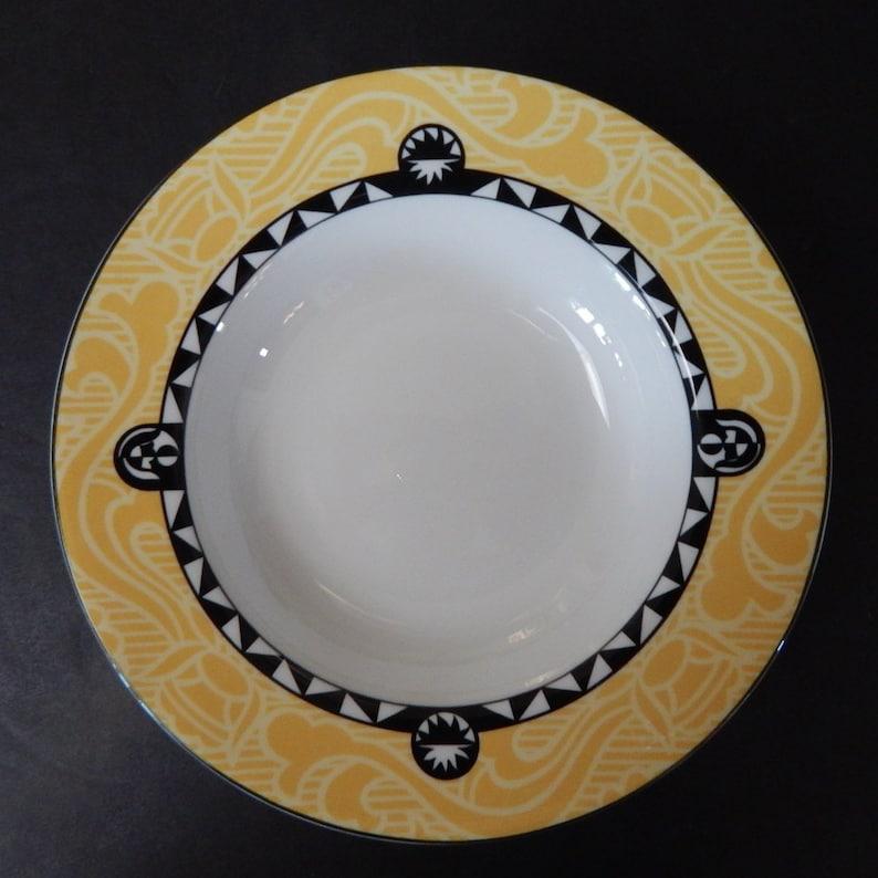 Set of 4 Sasaki MAYFAIR Rimmed Soup Bowl
