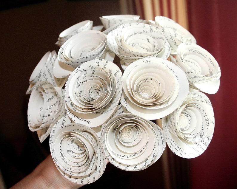 Harry Potter Paper Flowers Flower Bouquet Gift Flowers image 0