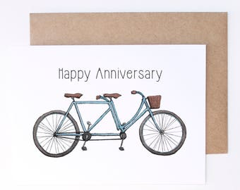 Anniversary card / 1st Anniversary / Anniversary gifts / first anniversary card / 10 year Anniversary card / anniversary card for wife