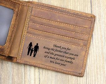 38547ee8fa48 Engraved Men Bifold Wallet