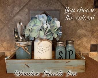 Kitchen Table Centerpiece Etsy