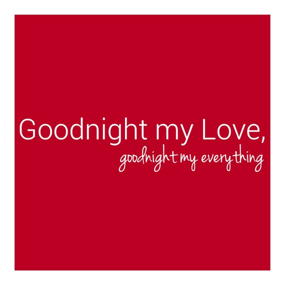 goodnight my love pictures