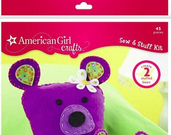American Girl Project Kit, Bear Sew and Stuff Kit