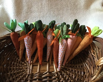 Spring Fabric Carrots - 4