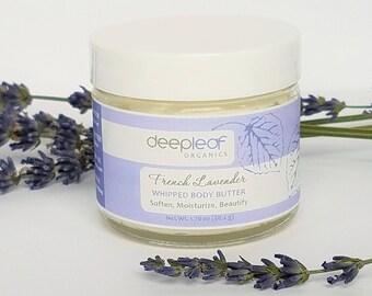 Lavender Body Butter, Whipped Body Butter, Organic Body Butter, Body Butter, Moisturizing Body Butter, Skin Moisturizer, Dry Skin Care