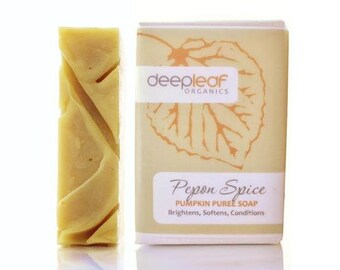 Pumpkin Soap, Organic Soap,  Moisturizing Soap, Natural Soap, Bar Soap, Vegan Soap, Dry Skin Soap, Essential Oil Soap, Scented Soap, Soap