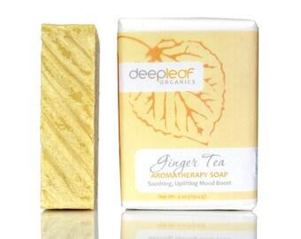 Organic Soap, Ginger Soap, Soap Bar, Natural Soap, Moisturizing Soap, Soap for Dry Skin, Vegan Soap, Aromatherapy Soap, Essential Oil Soap