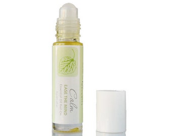 Calming Roll-on, Essential Oil Roll-On, Aromatherapy Roll-On, Essential Oils, Organic Body Oil, Body Oil, Aromatherapy, Health and Wellness