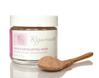 Clay Mask, Face Mask, Exfoliating Mask, Cleansing Mask, Purifying Mask, Facial Mask,  Natural Clay Mask, Face Clay Mask, Kaolin Clay Mask