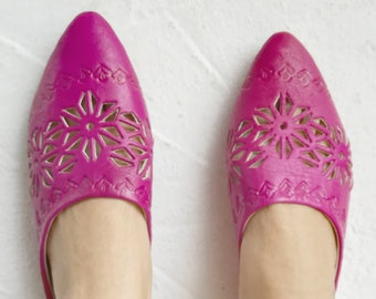 Pink Woman Shoes, Moroccan Shoes, Pink Shoes, Handmade Leather Shoes, Elegant Shoes, Traditional Shoes, Moroccan Style, Fashion Shoes