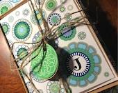 Stationary Personalized Gift Set teacher note book card Stationery Teacher Girl KALLI