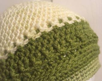 Beanie Crochet Pattern, Half Double Beanie pattern, Unisex Hat pattern, Textured Beanie Pattern