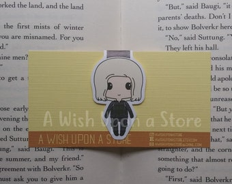 Magnetic Bookmarks | Black Widow