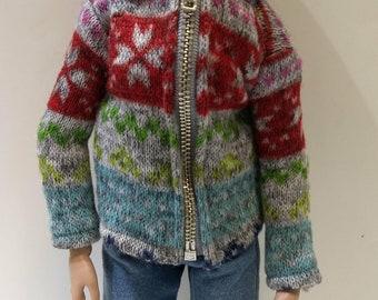 Multi-colored sweat jacket for Ellowyne Wilde