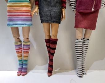 """Socks for Ellowyne Wilde, Tonner, 16"""" Fashion Doll, etc."""