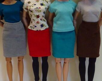 Reversible Corduroy Skirts for Ellowyne Wilde