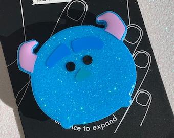 James P. Sullivan Tsum Tsum Inspired Glitter Phone Grip