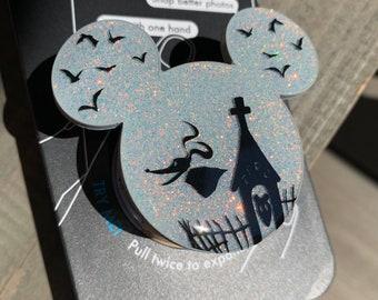 ZERO Inspired Glitter Mickey Phone Grip