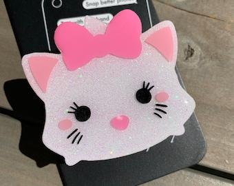 Marie Tsum Tsum Inspired Glitter Phone Grip