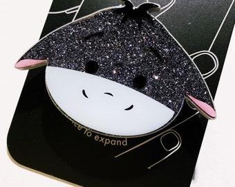 Eeyore Tsum Tsum Inspired Glitter Phone Grip