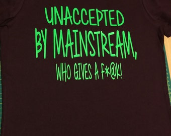 Unaccepted Fitted Tee