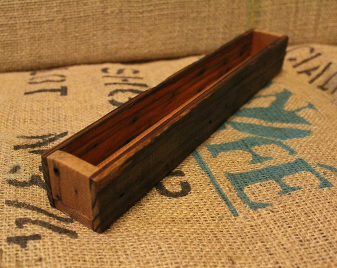 12 Inch reclaimed wood box