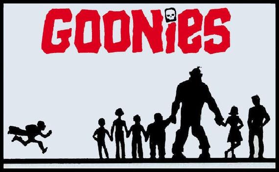 Men/'s Ladies T SHIRT retro classic 80s movie The Goonies skull and crossbones