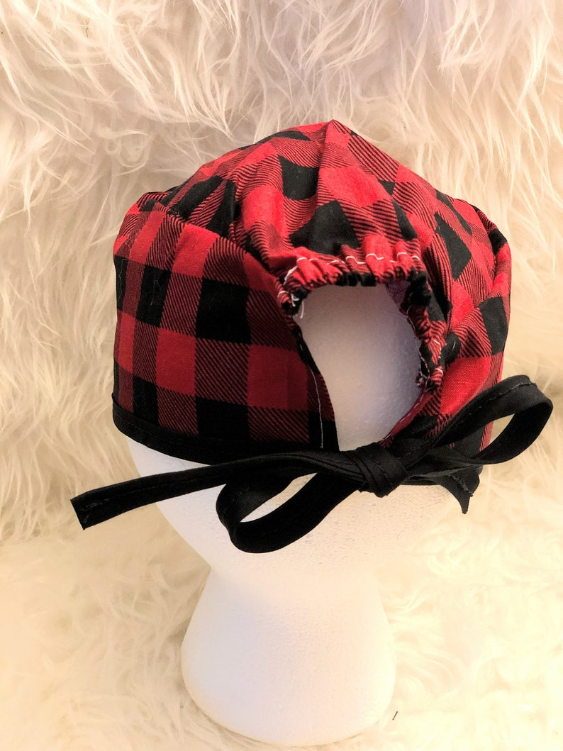 Tie back Surgical Scrub Hat