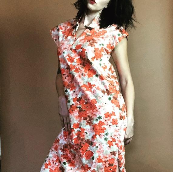 1950s Hawaiian Dress