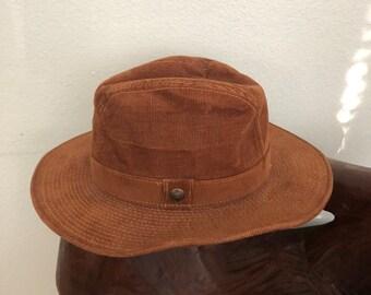 5fe20b1d15389 Vintage Levi s Corduroy Fedora Size 7 1 2
