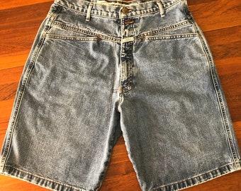 Men/'s Vintage 90/'s,Baggy Blue HIP H0P era CARPENTER Shorts By GIRBAD.34