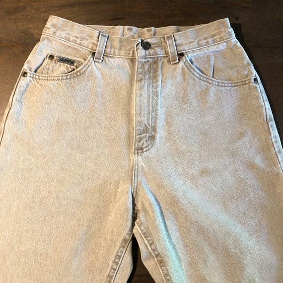 Vintage 1980s Lee Riveted Jeans Size 10P - image 2