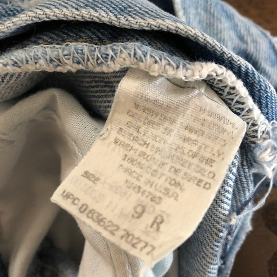 Vintage 1980s Lee Girls Jeans Size 9R - image 3