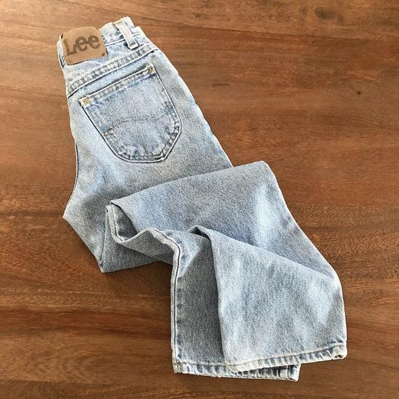 Vintage 1980s Lee Girls Jeans Size 9R - image 10
