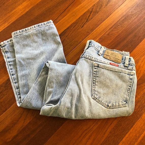 Vintage 1990s Wrangler Distressed Jeans Size 34