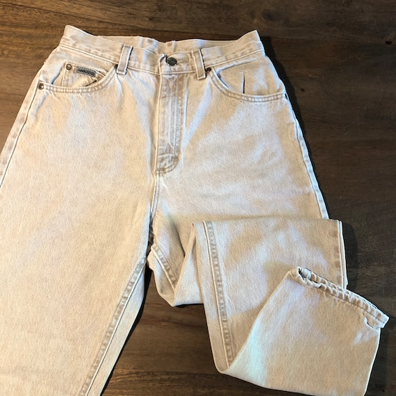 Vintage 1980s Lee Riveted Jeans Size 10P - image 4